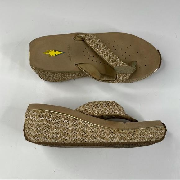 Volatile Island Wedge Sandals Women's Size 6